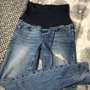 GAP Maternity Skinny Jeans 26 2 AWESOME 🤰